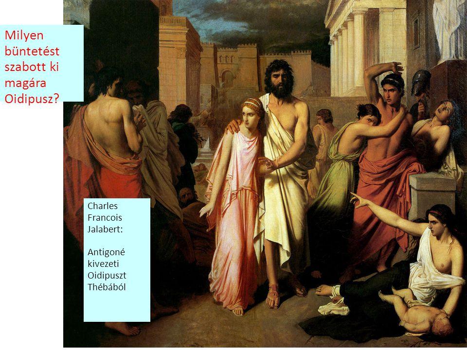 Milyen büntetést szabott ki magára Oidipusz