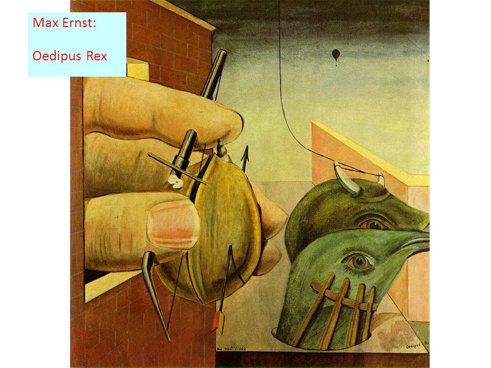 Max Ernst: Oedipus Rex