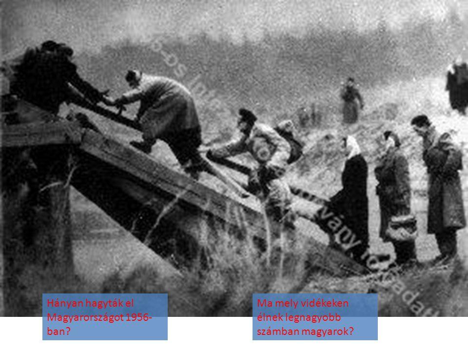 Hányan hagyták el Magyarországot 1956-ban