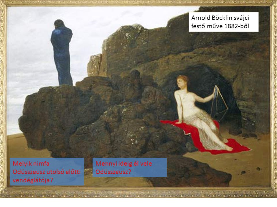 Arnold Böcklin svájci festő műve 1882-ből