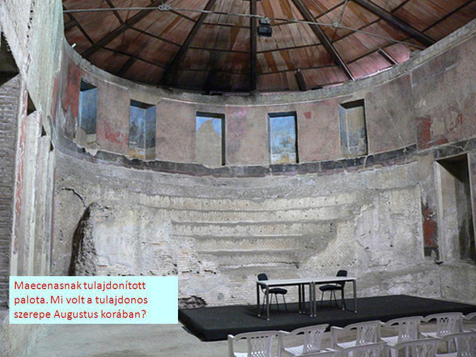 Maecenasnak tulajdonított palota