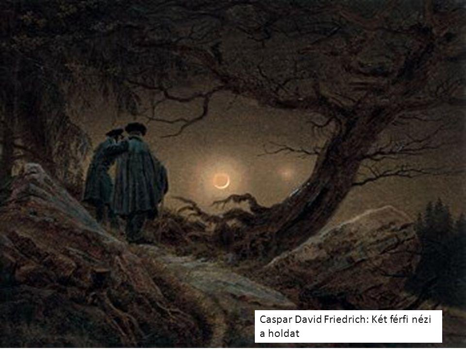 Caspar David Friedrich: Két férfi nézi a holdat