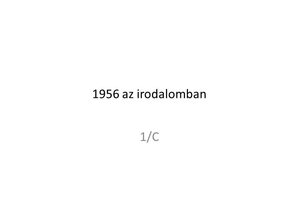 1956 az irodalomban 1/C