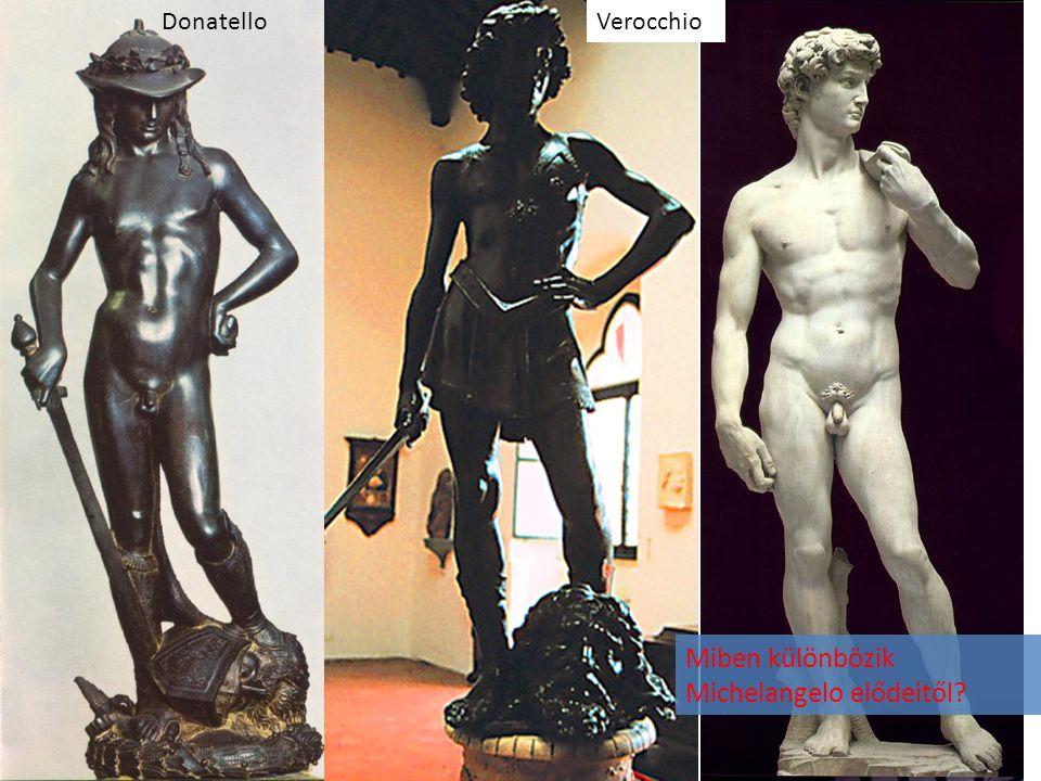 Miben különbözik Michelangelo elődeitől