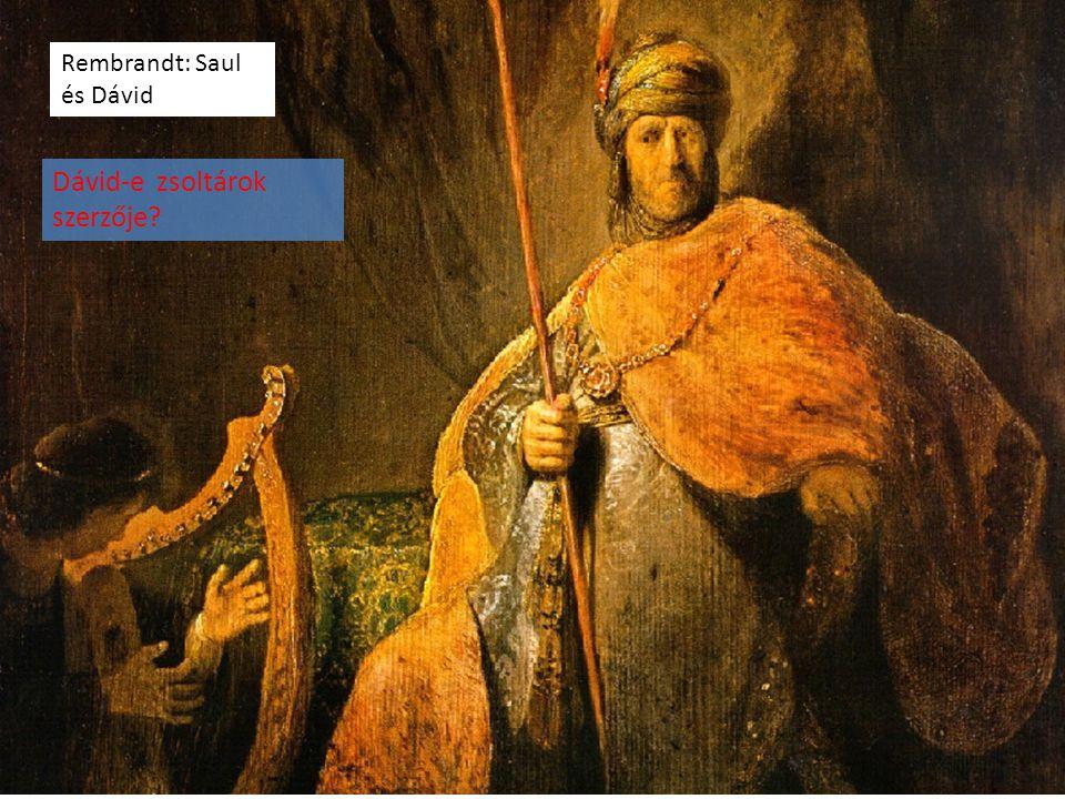 Dávid-e zsoltárok szerzője