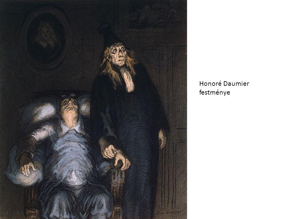 Honoré Daumier festménye