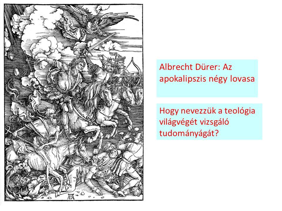 Albrecht Dürer: Az apokalipszis négy lovasa