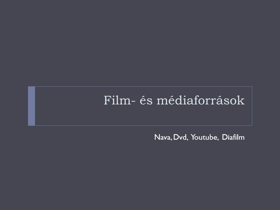 Film- és médiaforrások