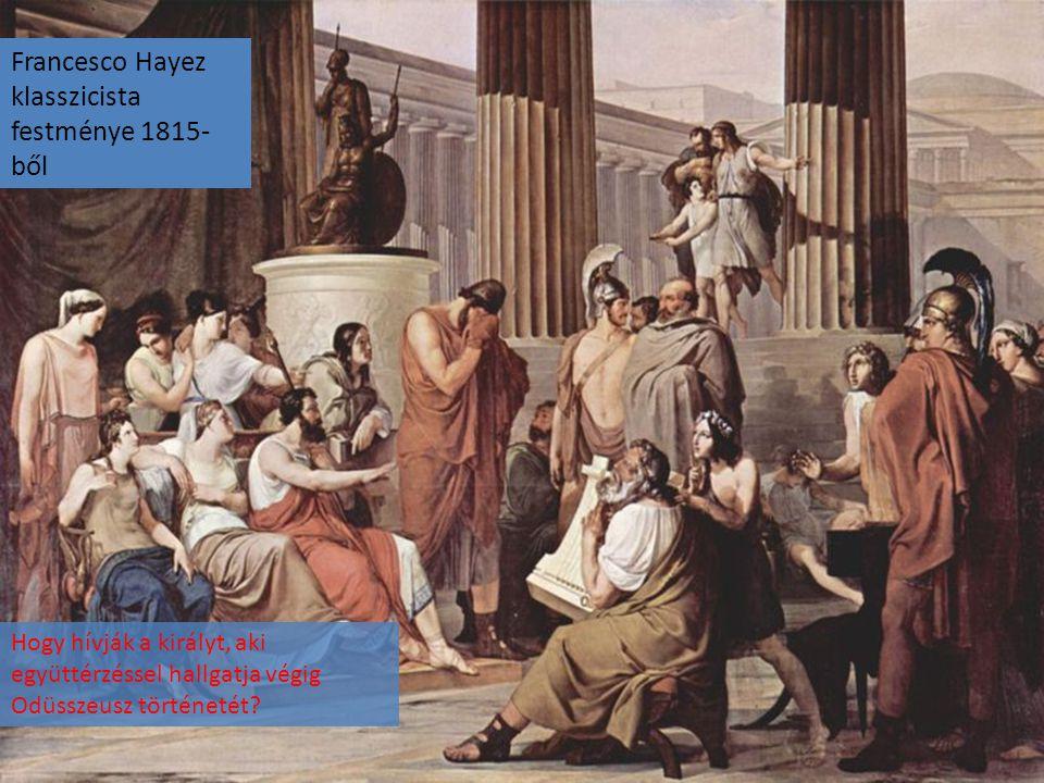 Francesco Hayez klasszicista festménye 1815-ből