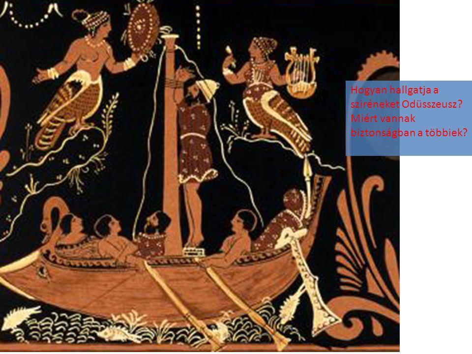 Hogyan hallgatja a sziréneket Odüsszeusz
