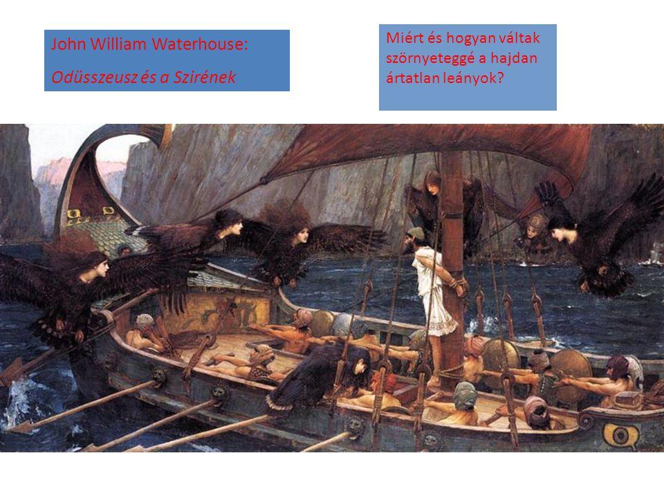John William Waterhouse: Odüsszeusz és a Szirének