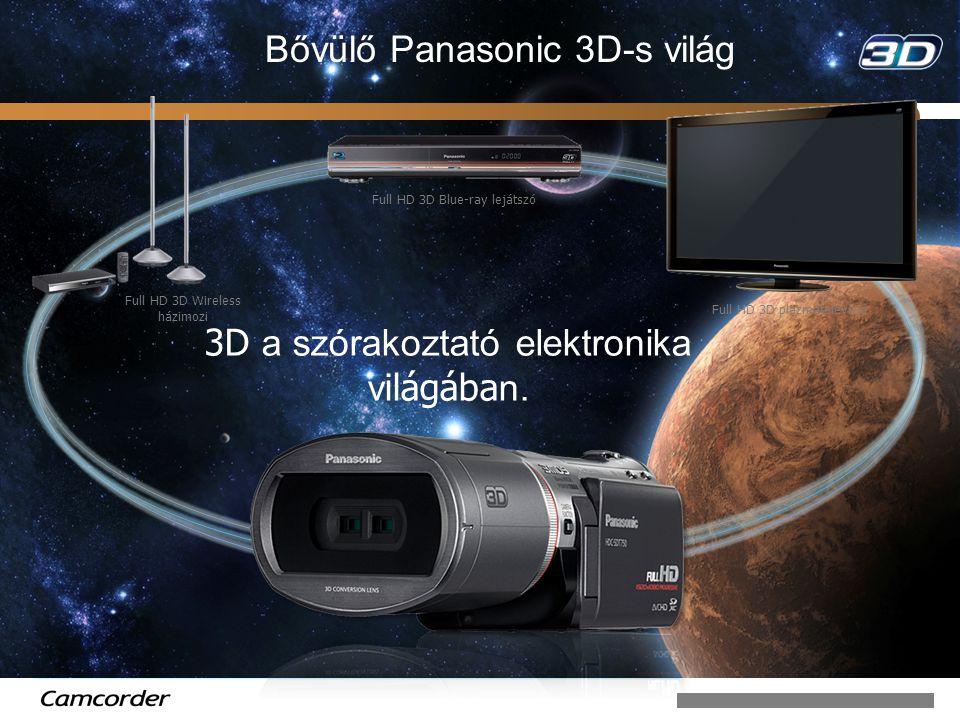 Bővülő Panasonic 3D-s világ
