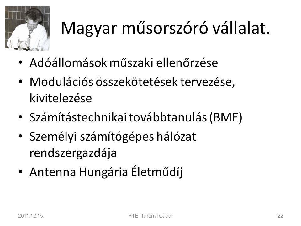 Magyar műsorszóró vállalat.