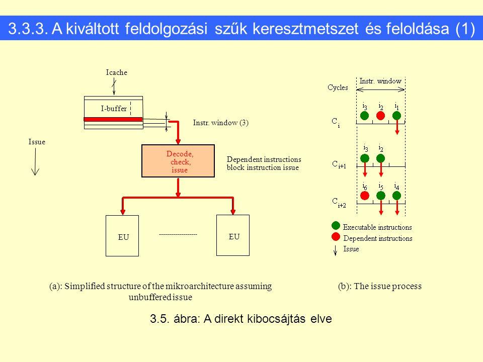 3.3.3. A kiváltott feldolgozási szűk keresztmetszet és feloldása (1)