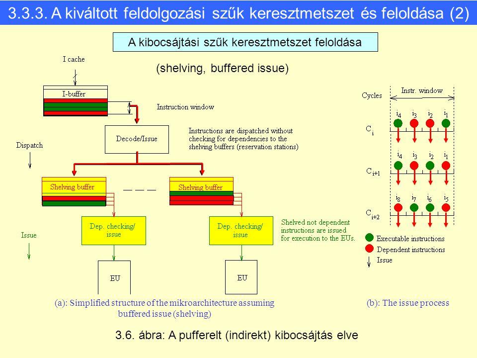 3.3.3. A kiváltott feldolgozási szűk keresztmetszet és feloldása (2)