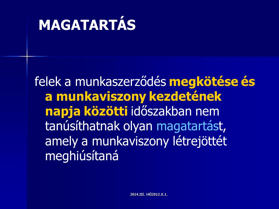 MAGATARTÁS