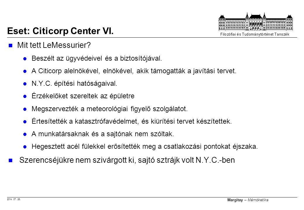 Eset: Citicorp Center VI.