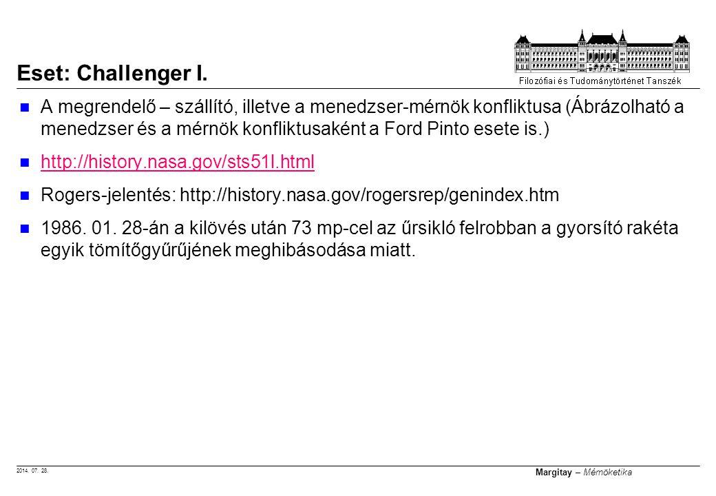 Eset: Challenger I.