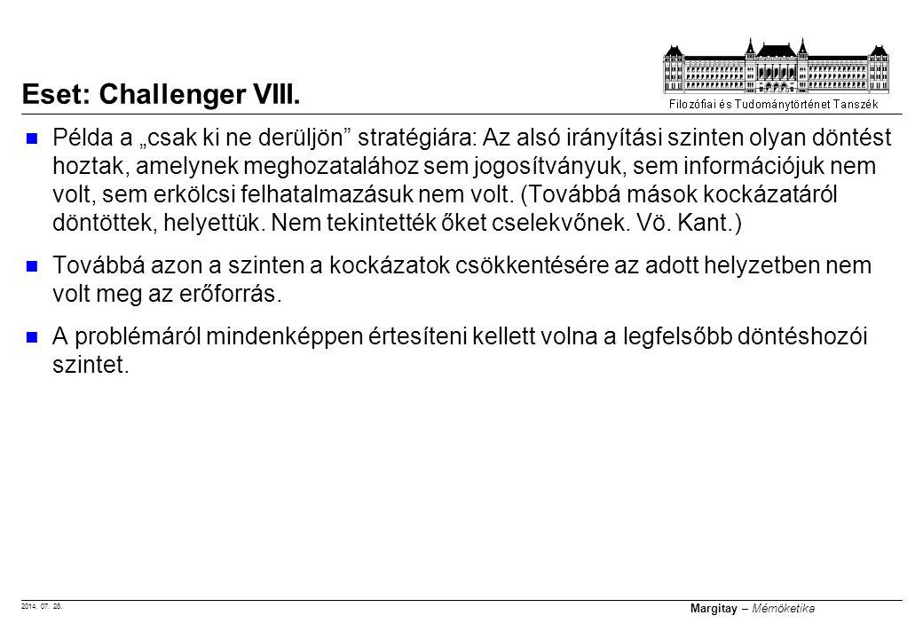 Eset: Challenger VIII.