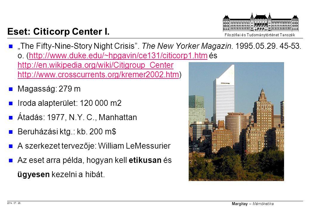 Eset: Citicorp Center I.