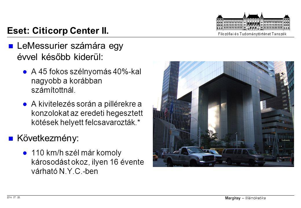 Eset: Citicorp Center II.