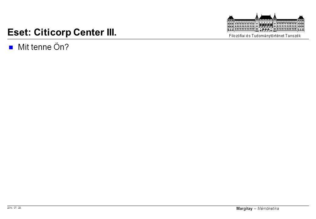 Eset: Citicorp Center III.
