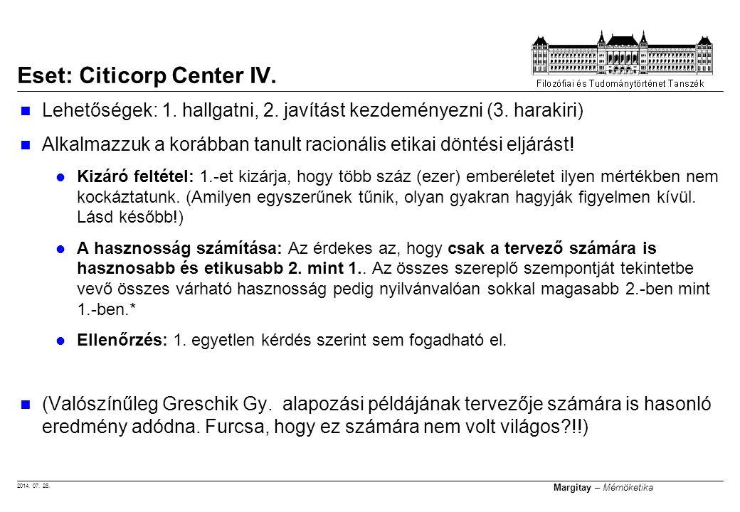 Eset: Citicorp Center IV.