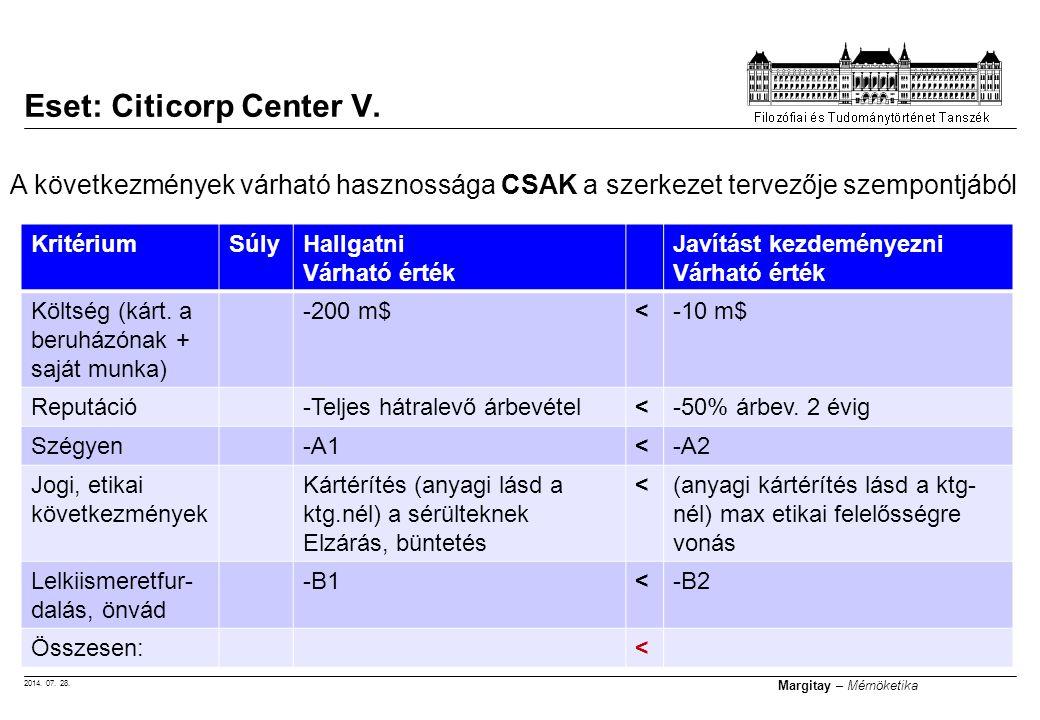 Eset: Citicorp Center V.