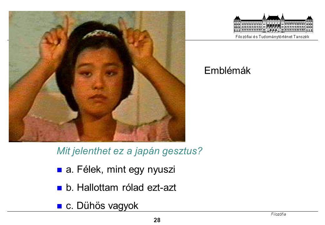 Mit jelenthet ez a japán gesztus a. Félek, mint egy nyuszi