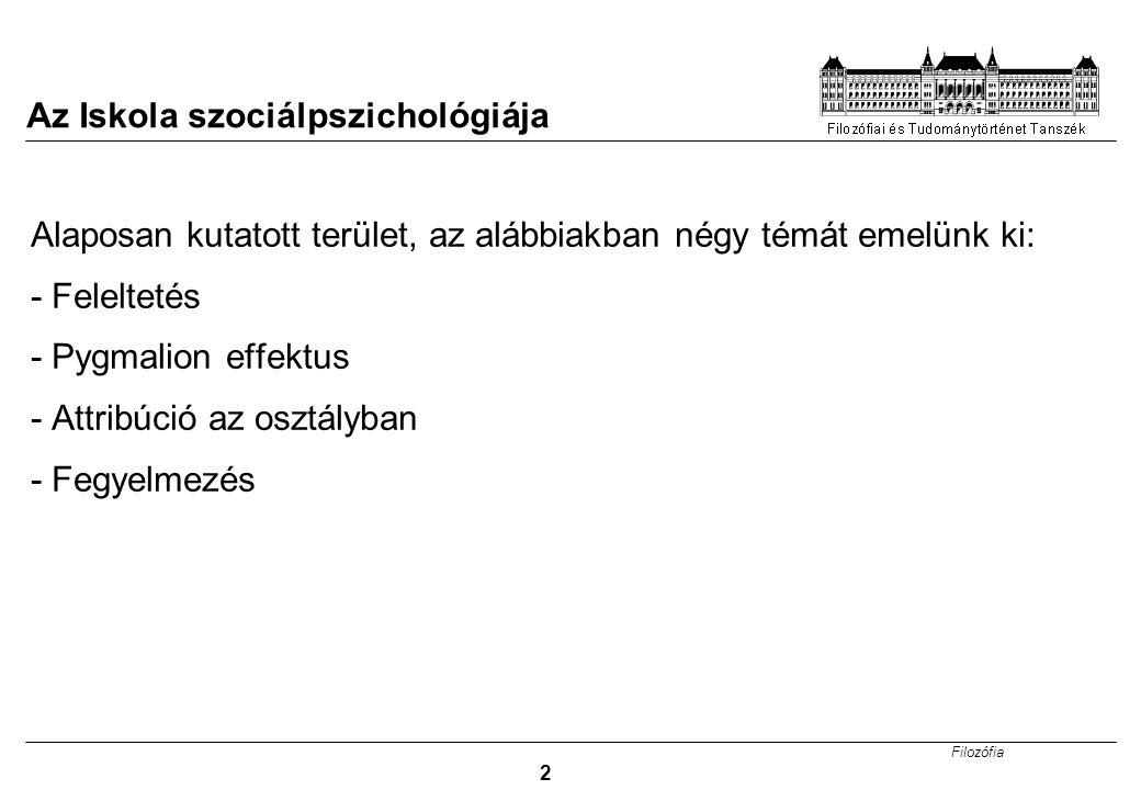 Az Iskola szociálpszichológiája
