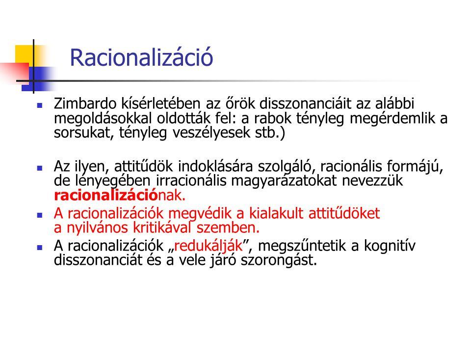 Racionalizáció