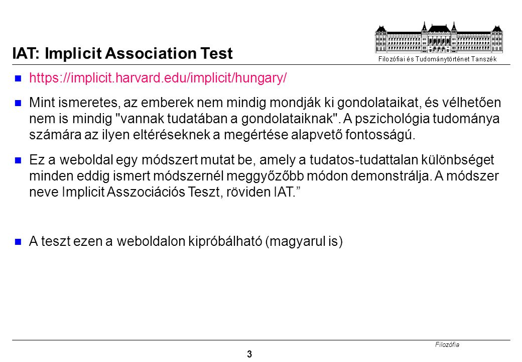 IAT: Implicit Association Test
