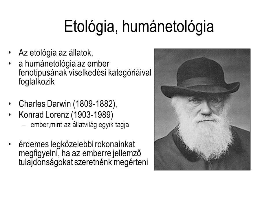 Etológia, humánetológia