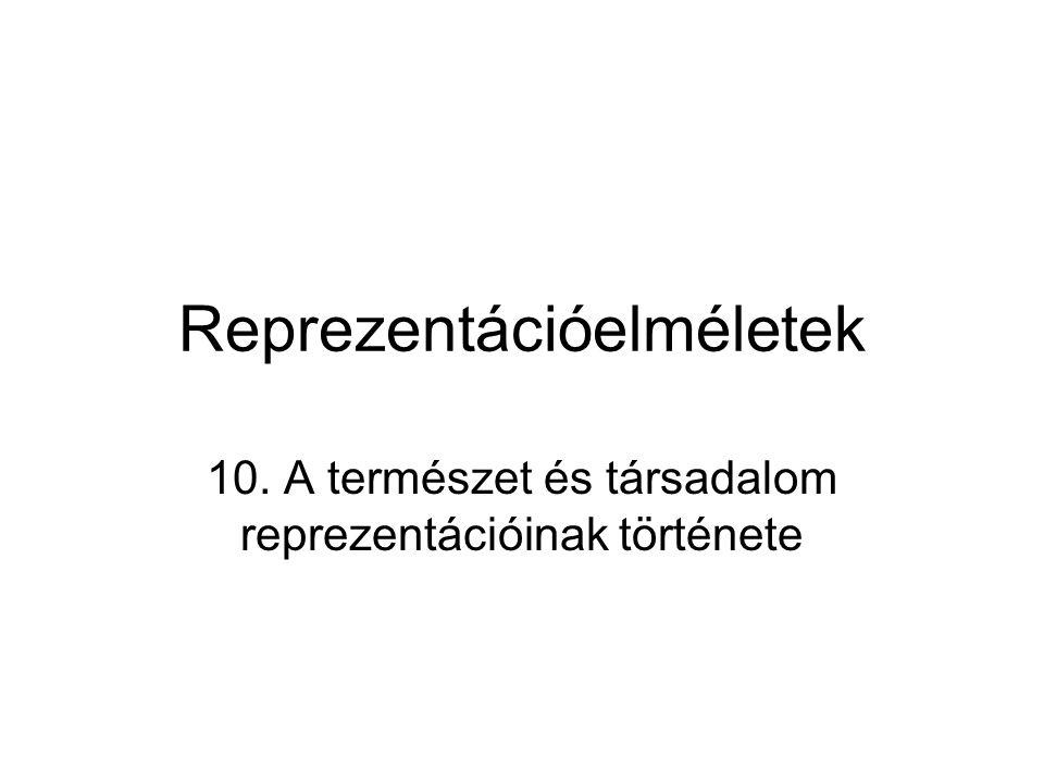 Reprezentációelméletek