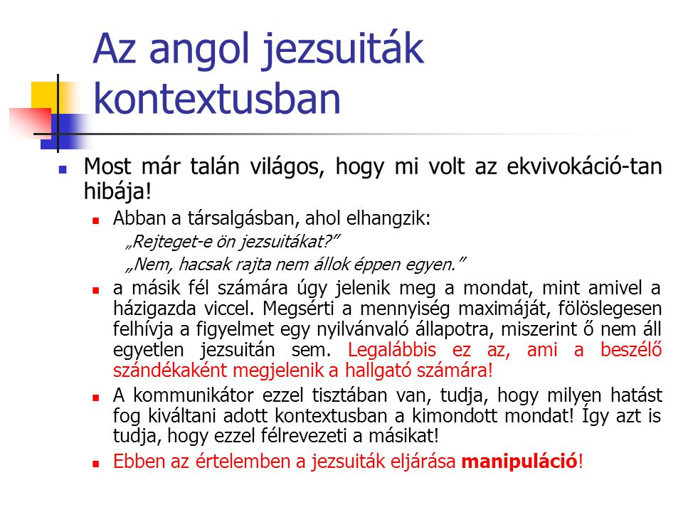 Az angol jezsuiták kontextusban