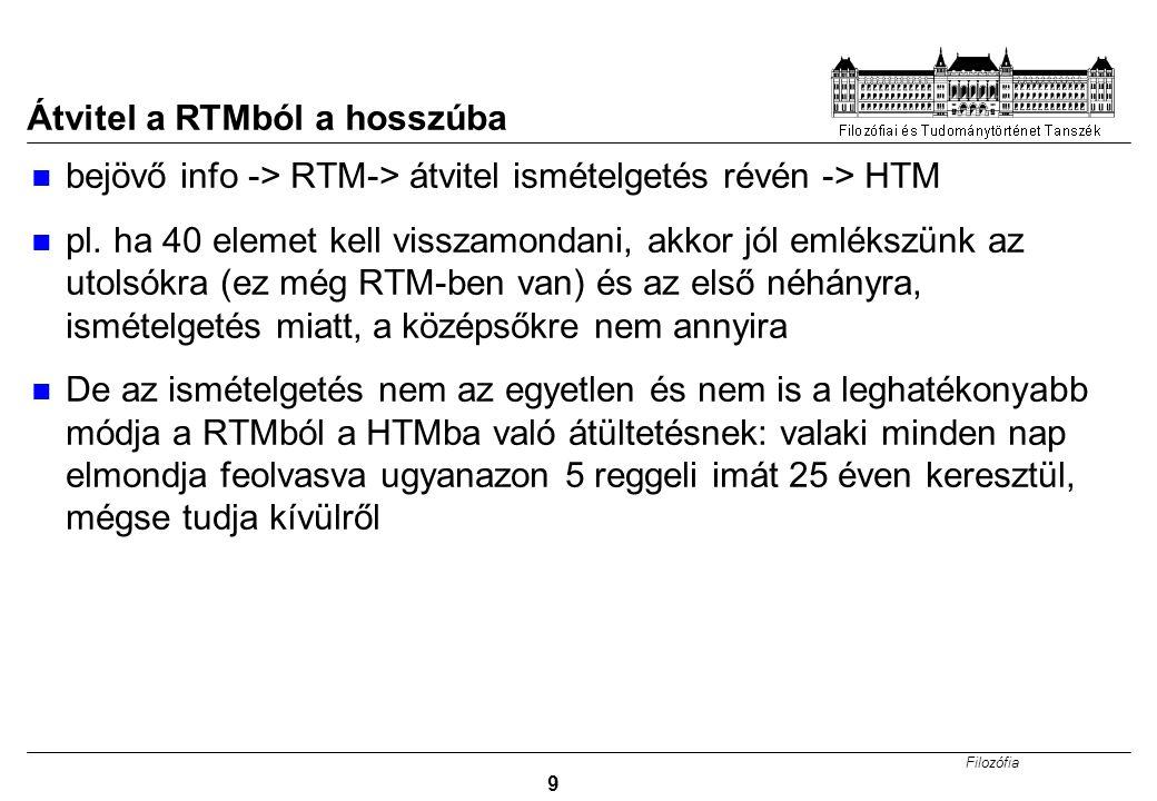 Átvitel a RTMból a hosszúba