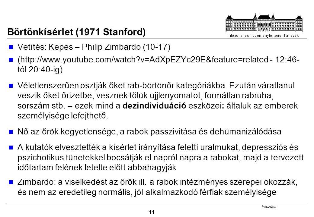 Börtönkísérlet (1971 Stanford)