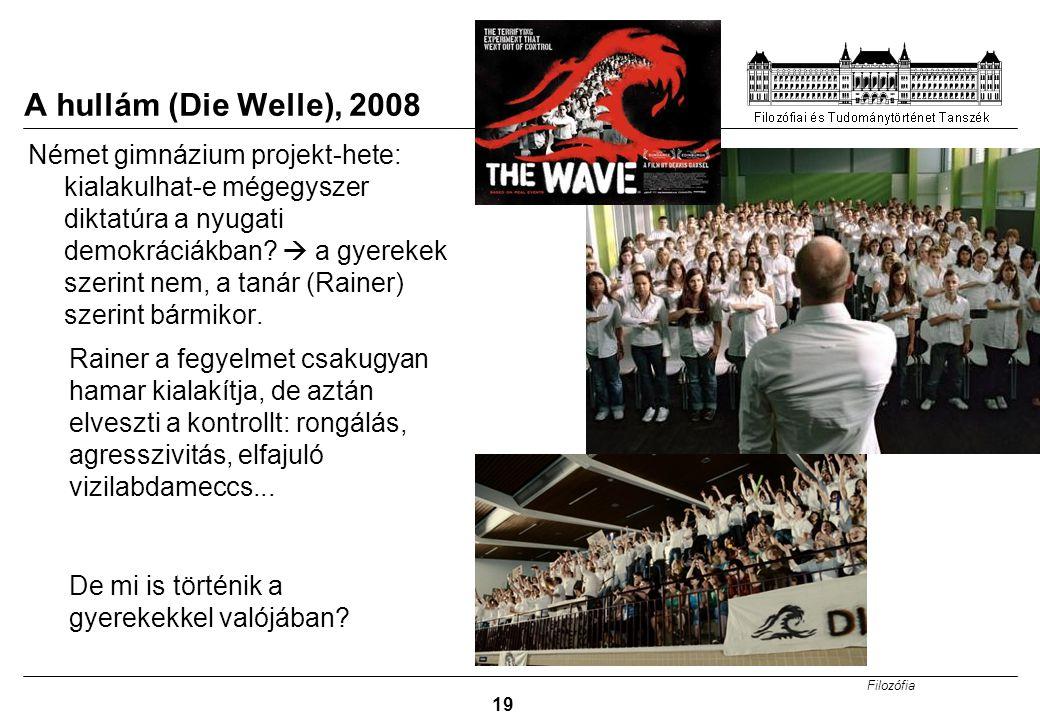 A hullám (Die Welle), 2008