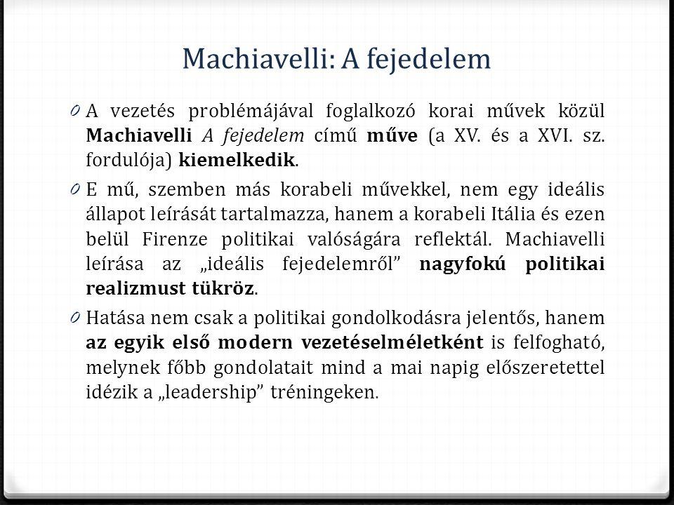 Machiavelli: A fejedelem