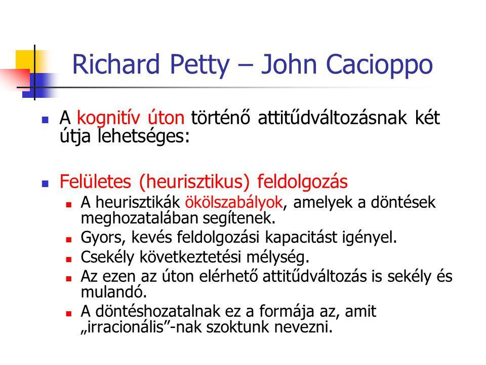 Richard Petty – John Cacioppo