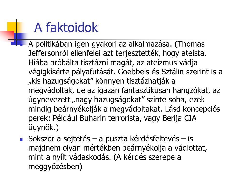 A faktoidok
