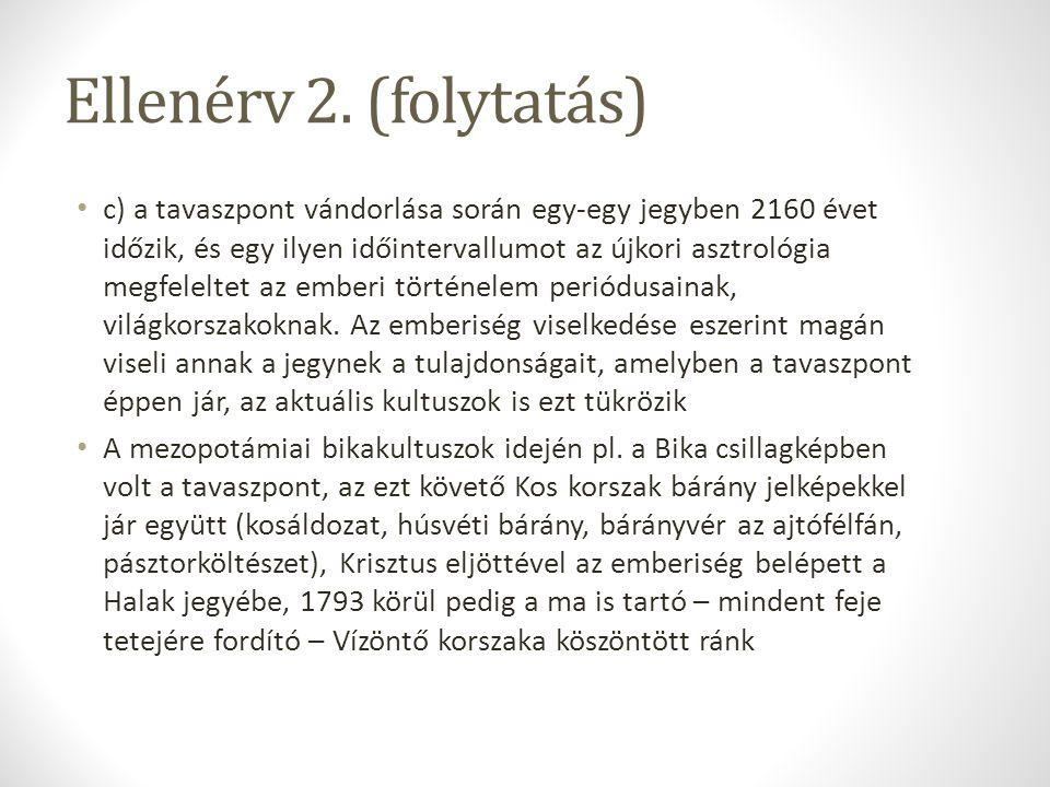 Ellenérv 2. (folytatás)