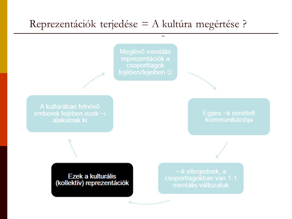 Reprezentációk terjedése = A kultúra megértése