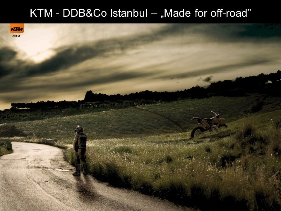 "KTM - DDB&Co Istanbul – ""Made for off-road"