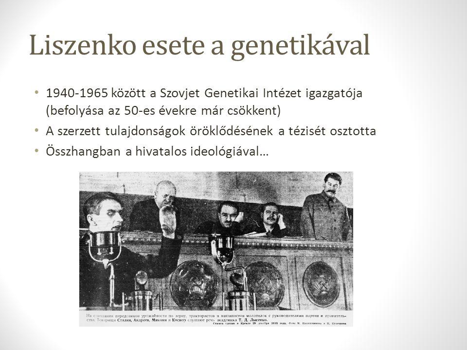 Liszenko esete a genetikával