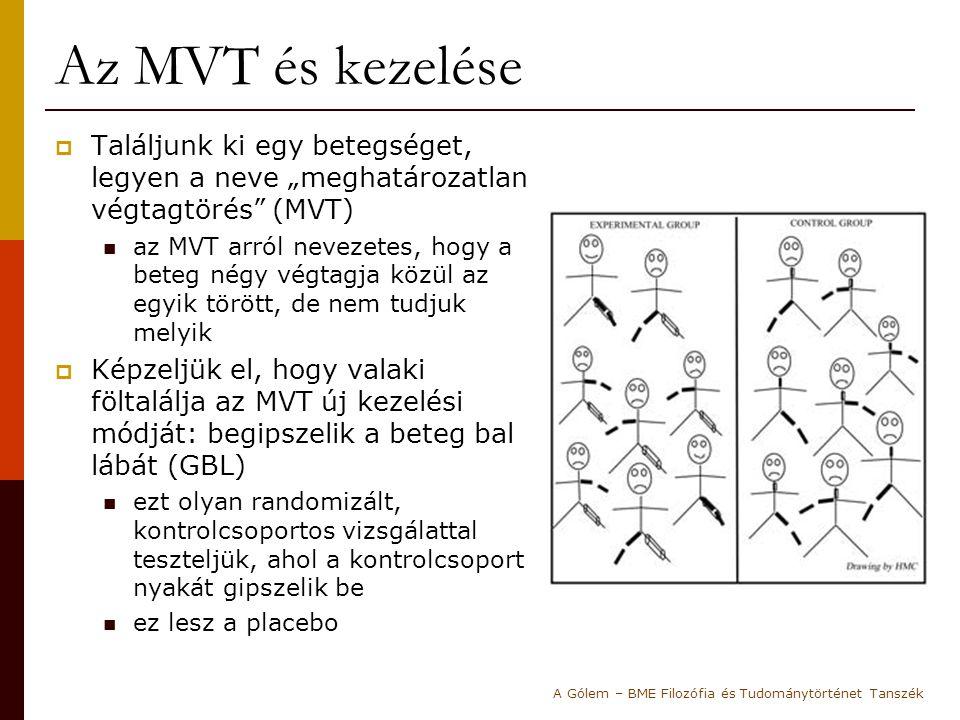 """Az MVT és kezelése Találjunk ki egy betegséget, legyen a neve """"meghatározatlan végtagtörés (MVT)"""