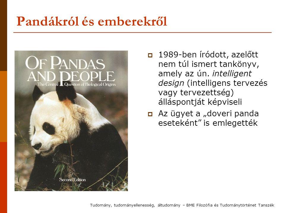 Pandákról és emberekről