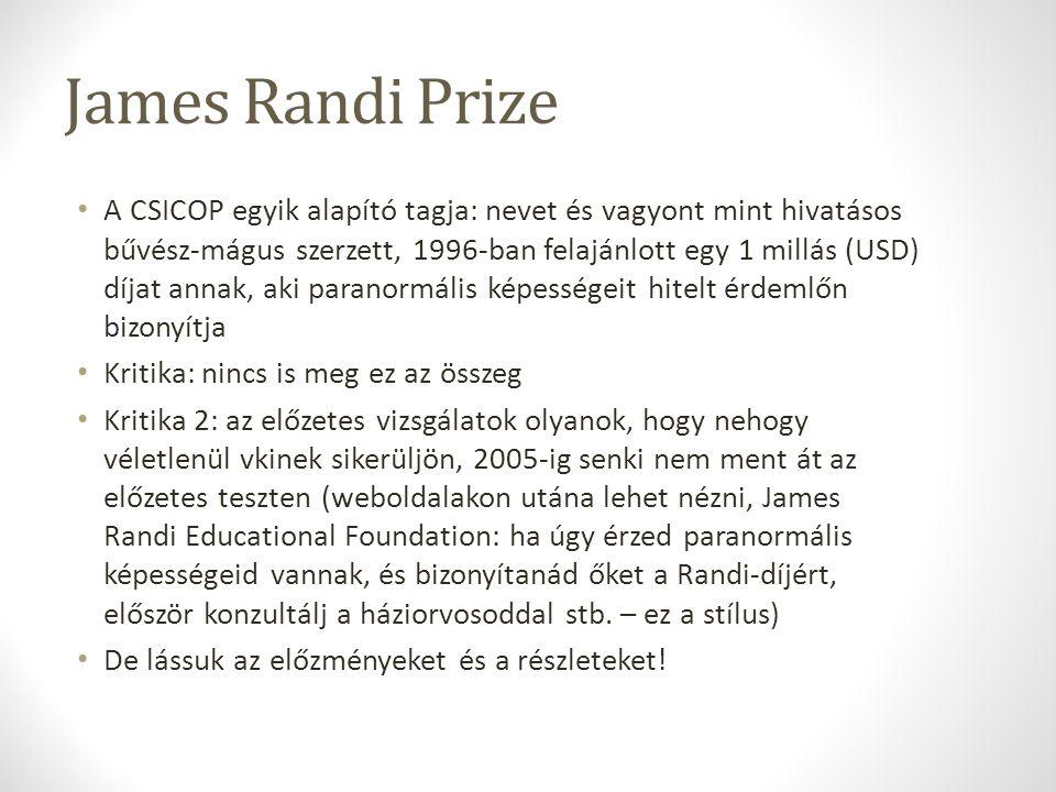 James Randi Prize