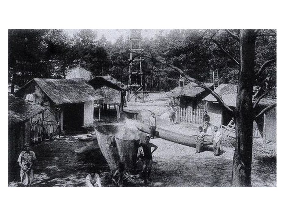 indokínai falu, Exhibition Coloniale, Párizs, 1907