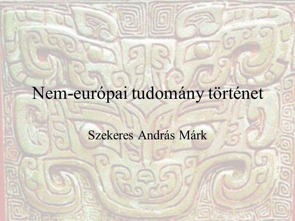 Nem-európai tudomány történet